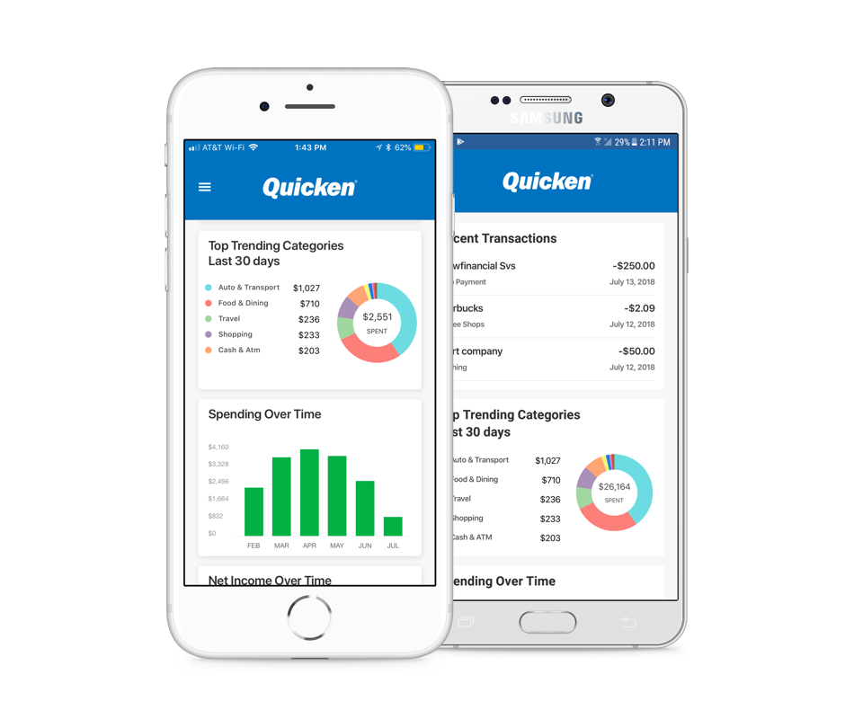 Quicken Mobile Companion App