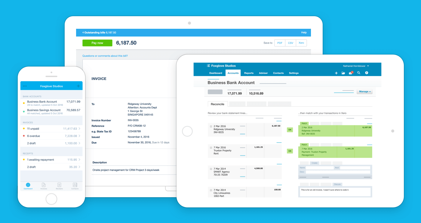 Why to use Xero Accounting software