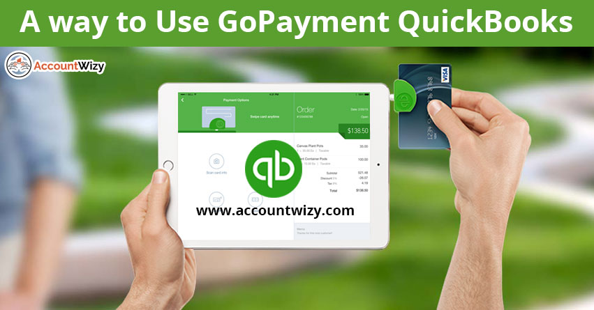 A way to Use GoPayment QuickBooks