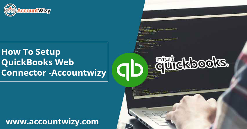How to setup QuickBooks web connector – Accountwizy