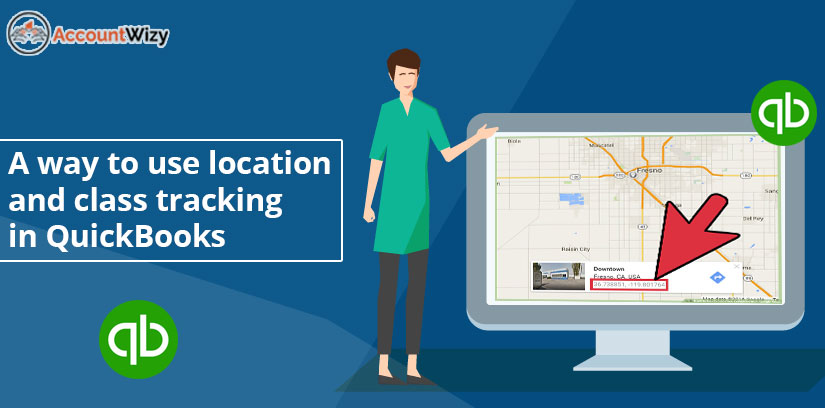 A way to use location and class tracking in QuickBooks