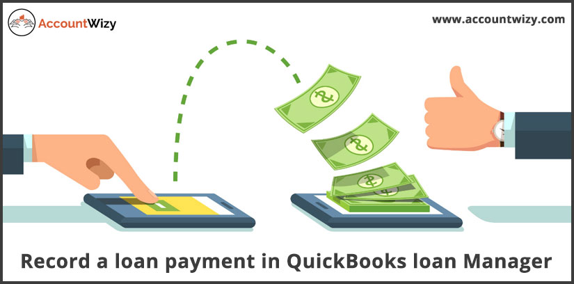 Record a loan payment in QuickBooks loan Manager