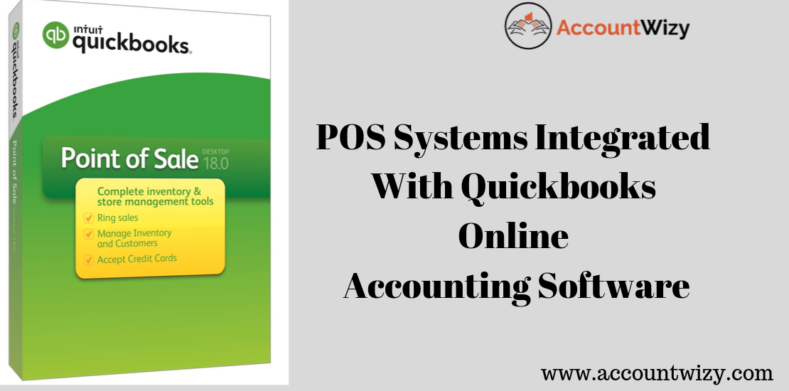 POS Systems Integrated With Quickbooks Online Accounting Software