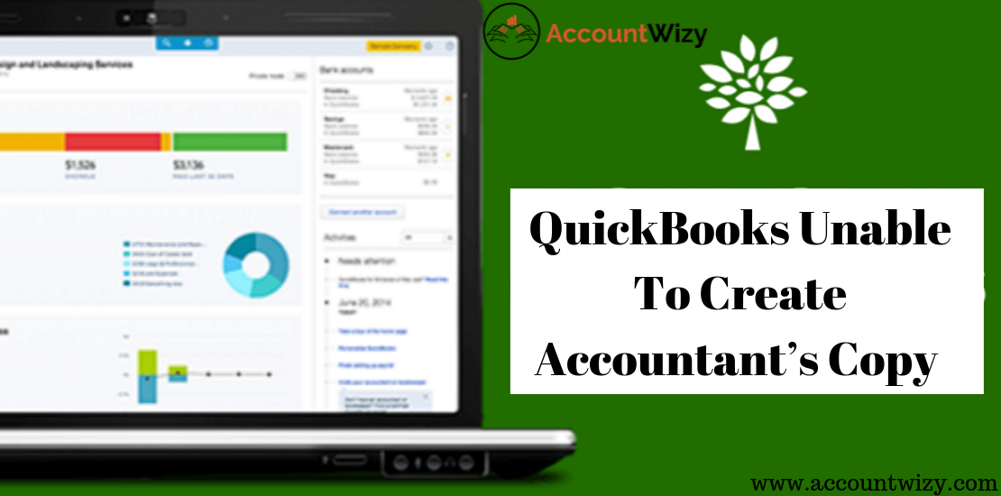 QuickBooks Unable To Create Accountant's Copy