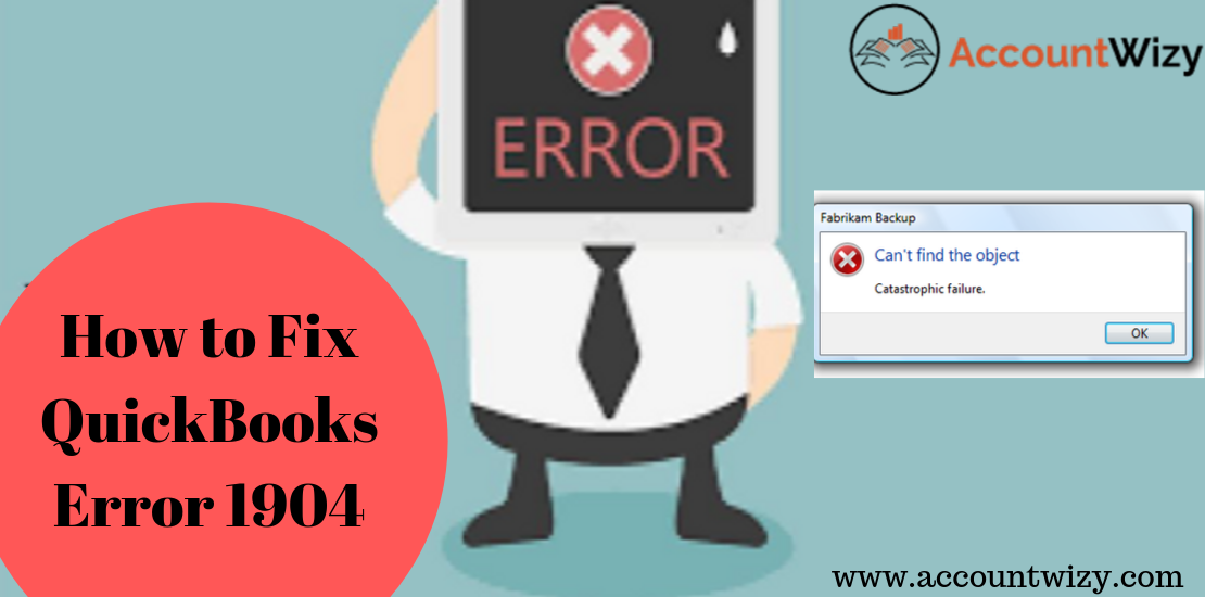 How to Fix QuickBooks Error 1904