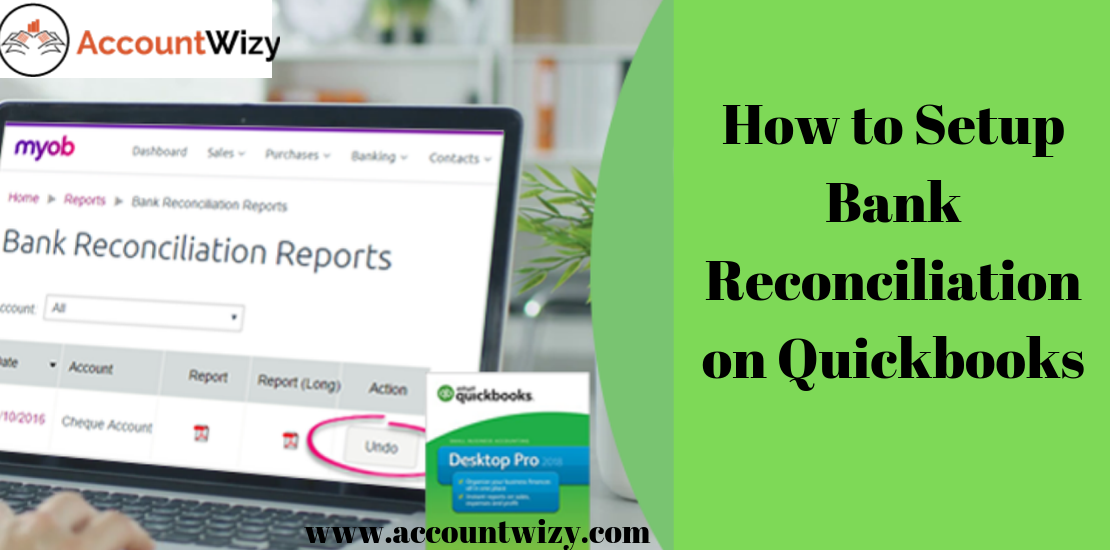 How to Setup Bank Reconciliation on Quickbooks