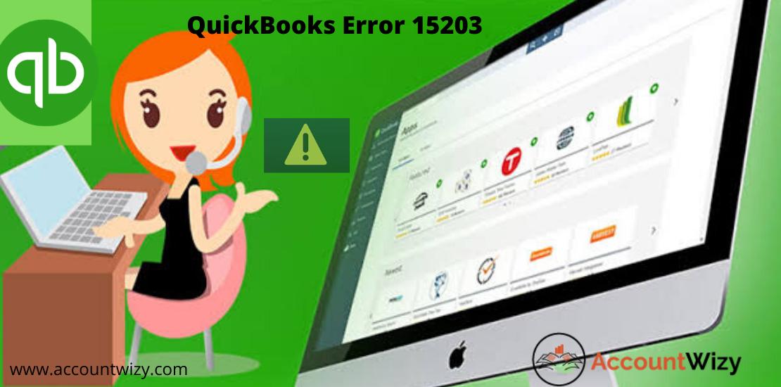 QuickBooks Error 15203