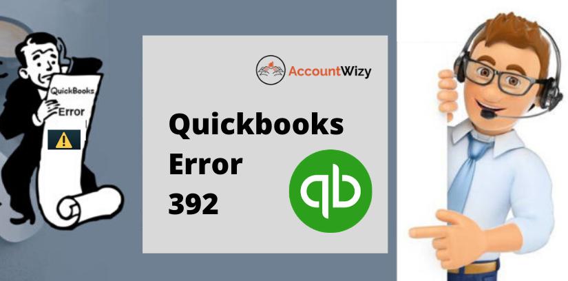 Quickbooks Error 392
