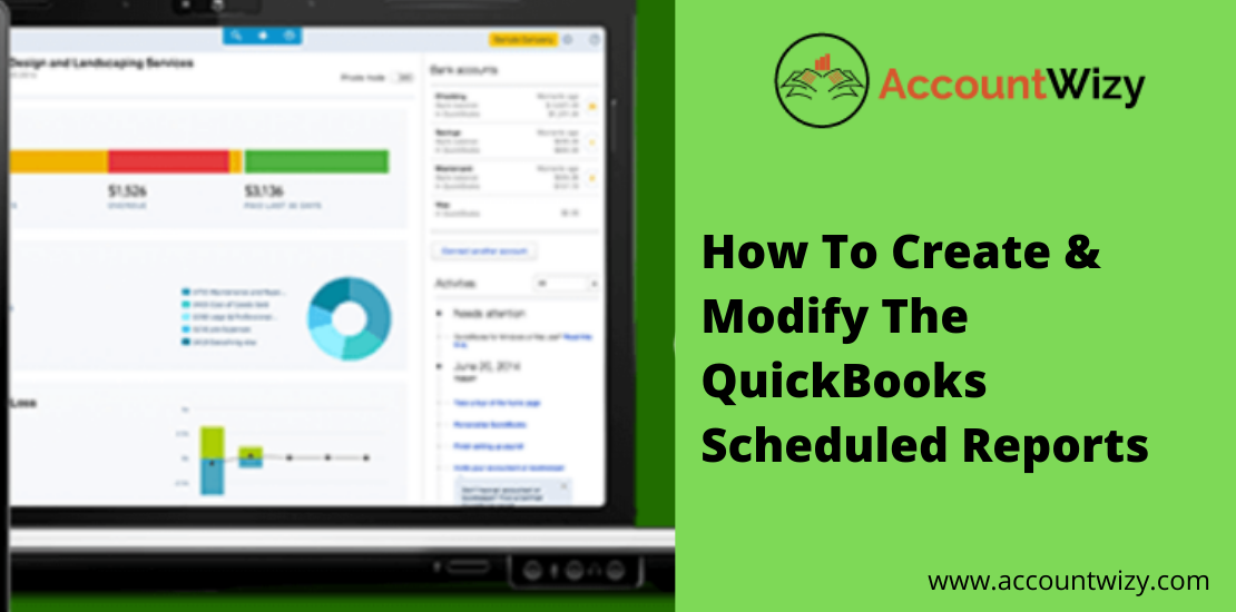 QuickBooks Scheduled Reports