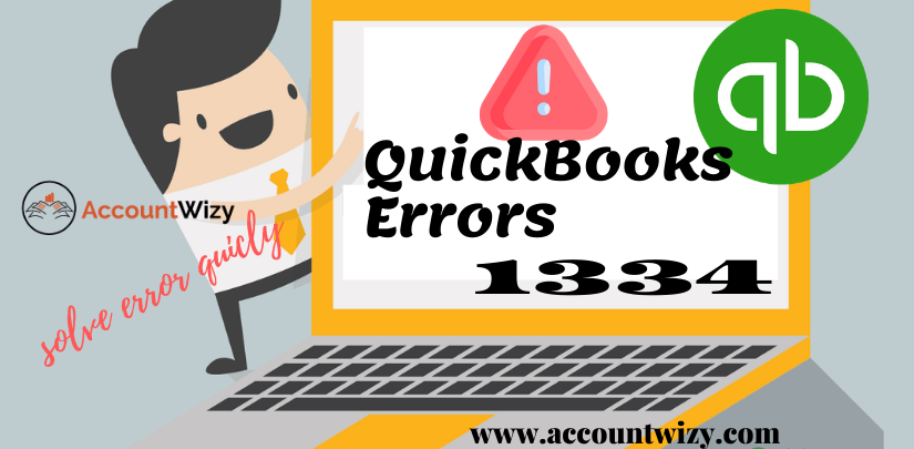 QuickBooks Errors 1334