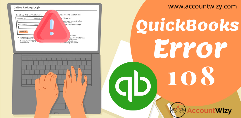 QuickBooks error 108