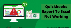 QuickBooks Export To Excel Not Working