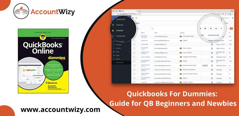 Quickbooks For Dummies: Guide for QB Beginners and Newbies