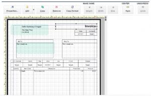Quickbooks invoice formats