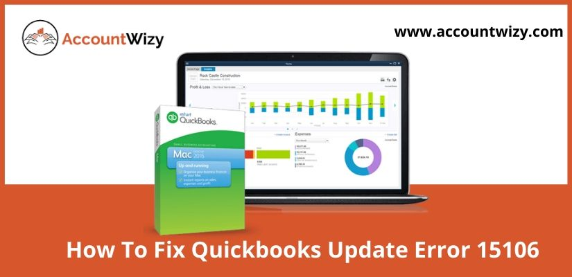 How To Fix Quickbooks Update Error 15106