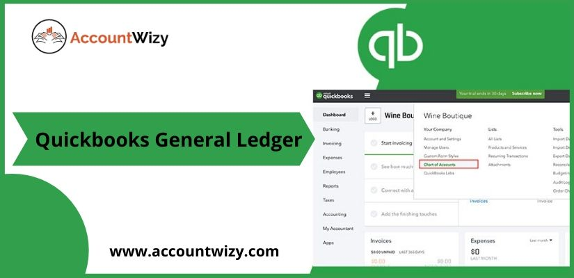 Quickbooks General Ledger
