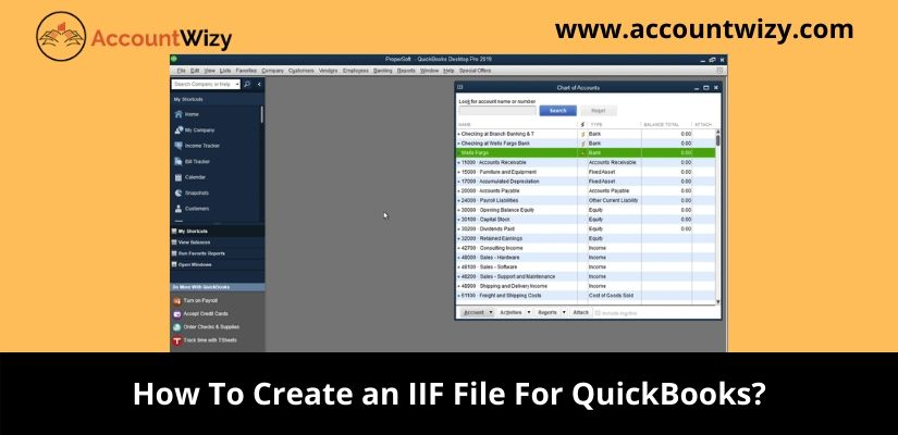 How To Create an IIF File For QuickBooks?