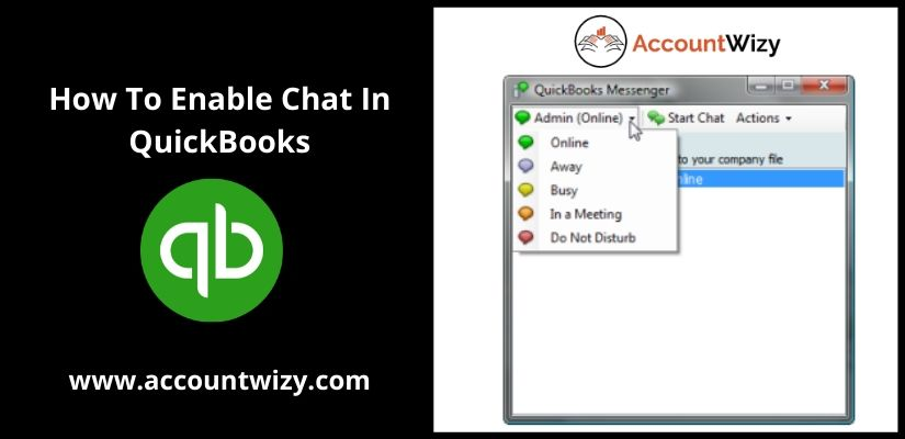 How To Enable Chat In QuickBooks