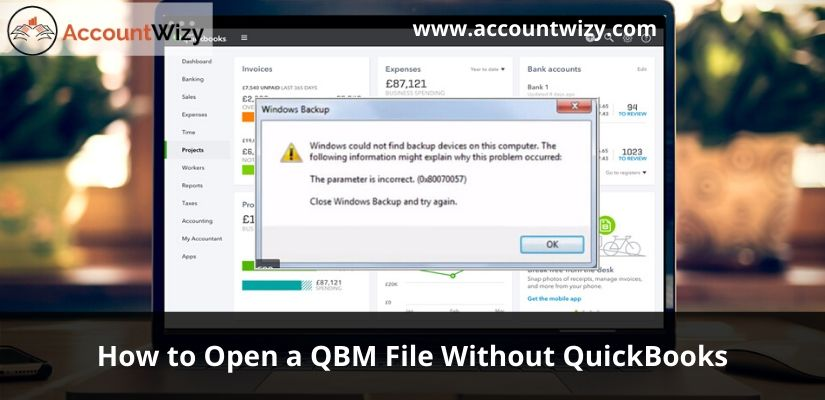 How to Open a QBM File Without QuickBooks