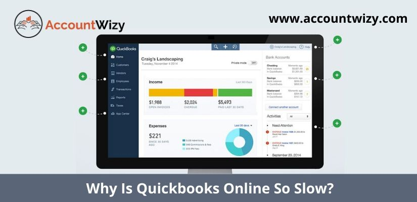 Why Is Quickbooks Online So Slow?