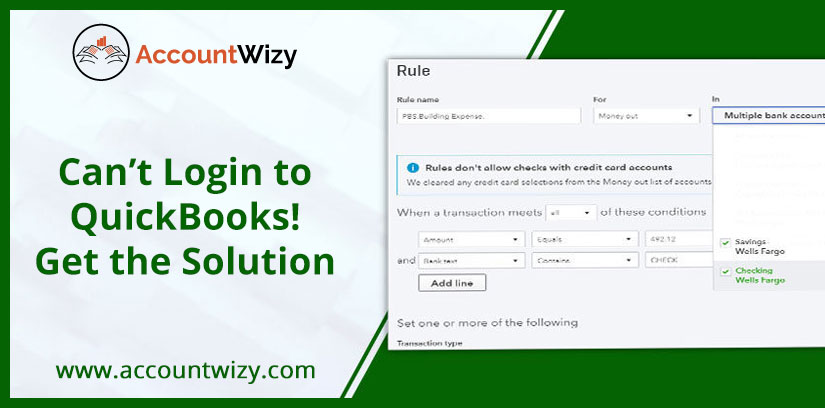 Can't Login to QuickBooks! Get the Solution