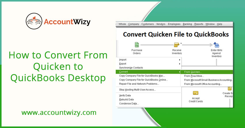 How to Convert From Quicken to QuickBooks Desktop