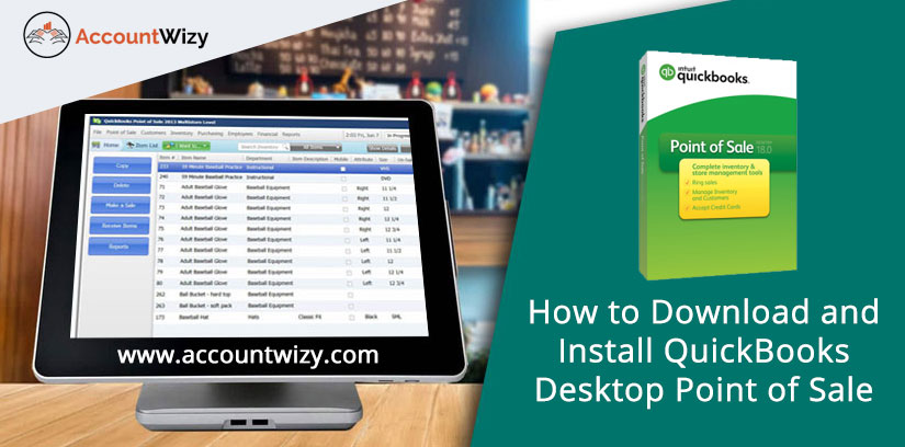 How to Download and Install QuickBooks Desktop Point of Sale