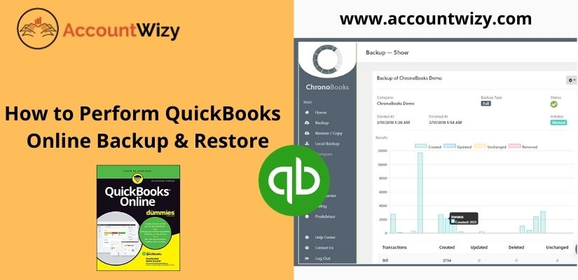 How to Perform QuickBooks Online Backup & Restore