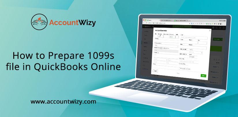How to Prepare 1099s file in QuickBooks Online
