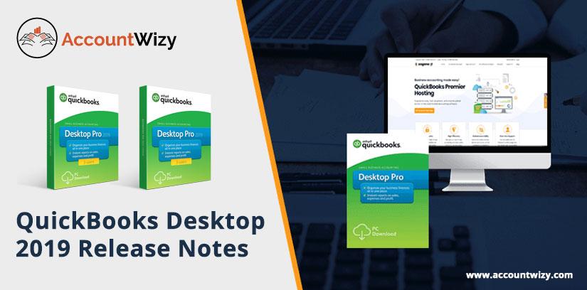 QuickBooks Desktop 2019 Release Notes