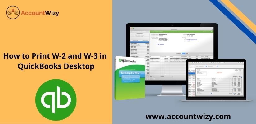 How to Print W-2 and W-3 in QuickBooks Desktop