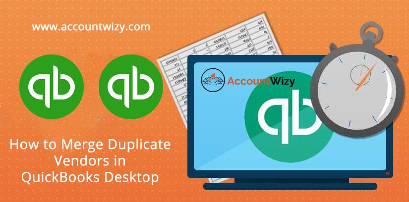 How to Merge Duplicate Vendors in QuickBooks Desktop