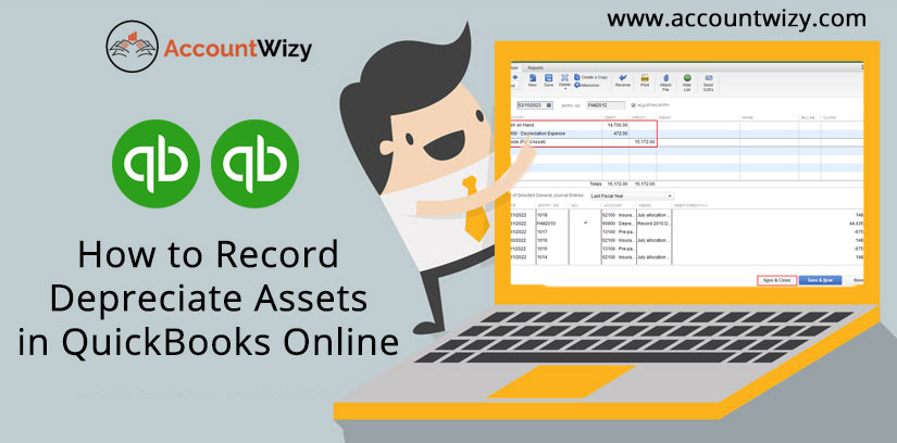 How to Record Depreciate Assets in QuickBooks Online