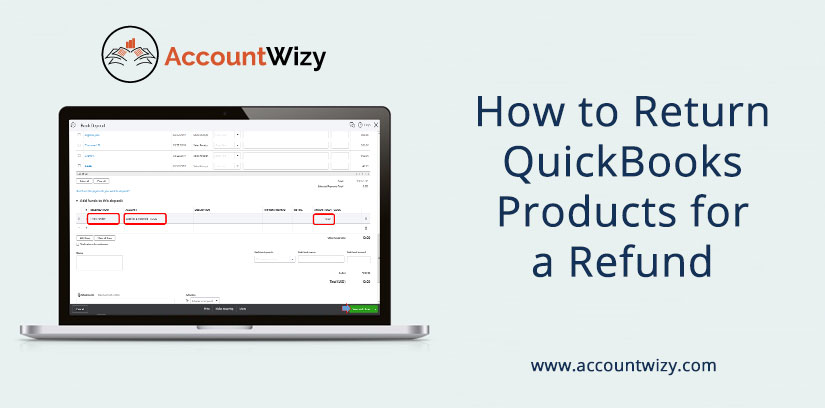 How to Return QuickBooks Products for a Refund