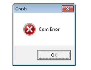 com error in QuickBooks