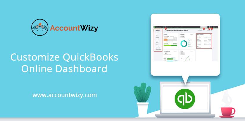 Customize QuickBooks Online Dashboard