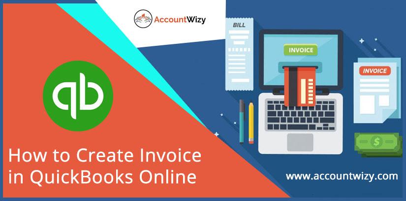 How to Create Invoice in QuickBooks Online