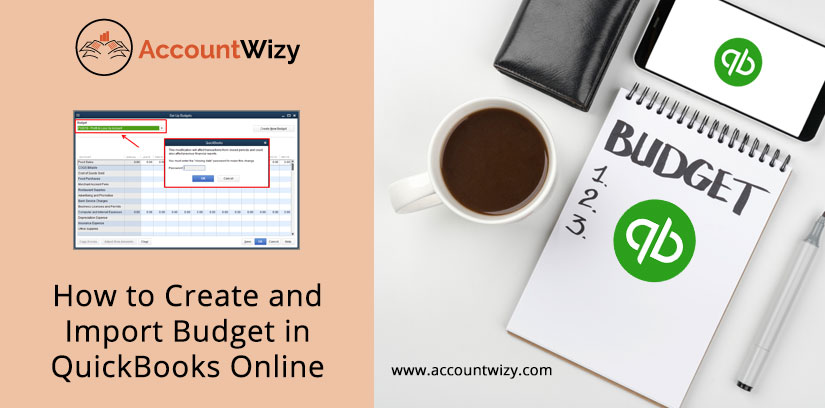 How to Create and Import Budget in QuickBooks Online