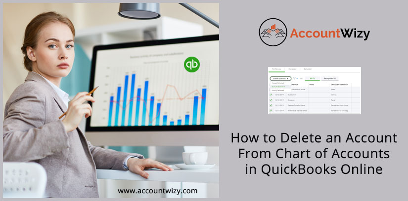How to Delete an Account From Chart of Accounts in QuickBooks Online