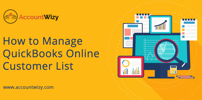How to Manage QuickBooks Online Customer List