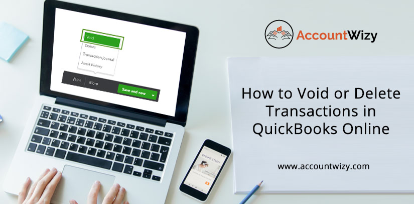 How to Void or Delete Transactions in QuickBooks Online