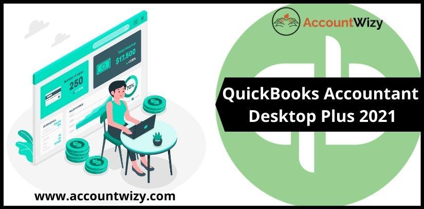 QuickBooks Accountant Desktop Plus 2021
