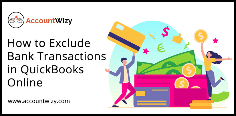 How to Exclude Bank Transactions in QuickBooks Online