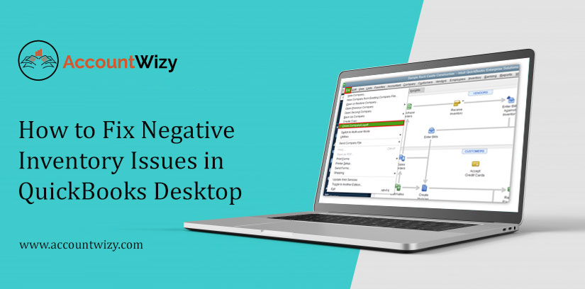 How to Fix Negative Inventory Issues in QuickBooks Desktop