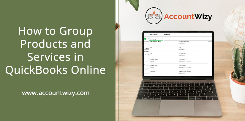 How to Group Products and Services in QuickBooks Online