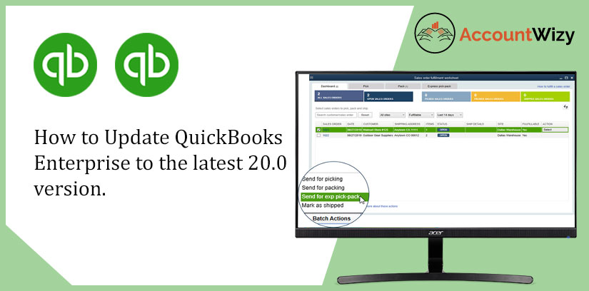 How to Update QuickBooks Enterprise to the latest 20.0 version