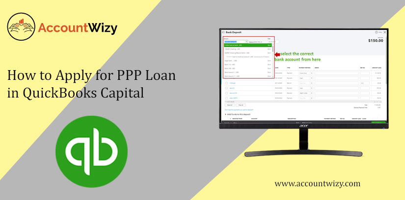 How to Apply for PPP Loan in QuickBooks Capital