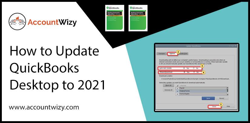 How to Update QuickBooks Desktop to 2021