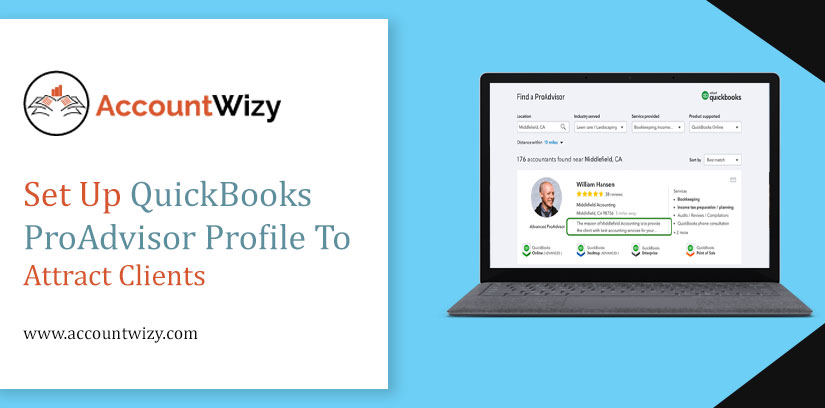 Set Up QuickBooks ProAdvisor Profile to Attract Clients
