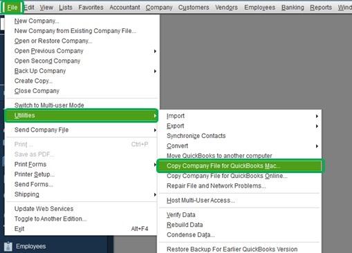 Convert QB file for Mac